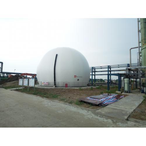 雙膜氣柜沼氣存儲