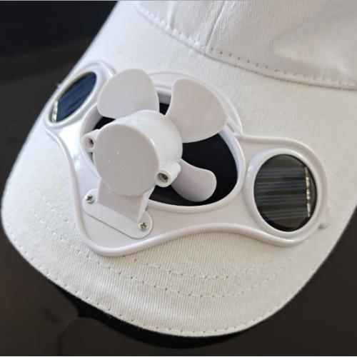 太阳能风扇帽
