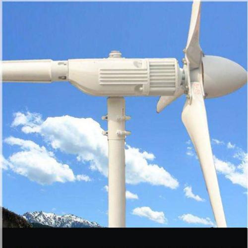 風機主體1000W水平軸式風力發電機組