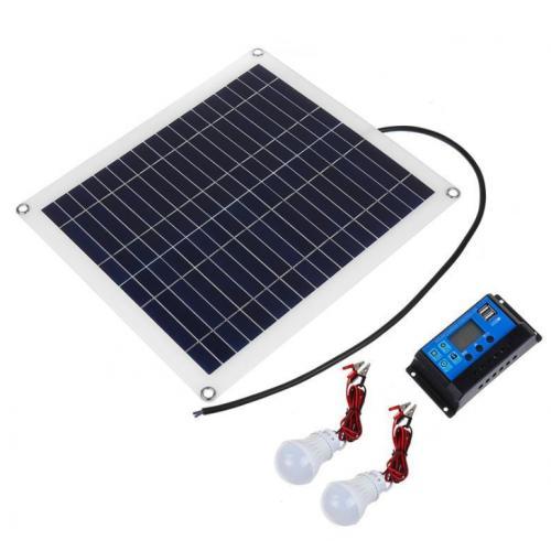 多晶20W柔性太阳能板