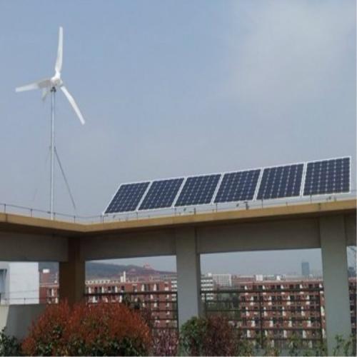 300w太阳能风光互补路灯太阳能板发电组