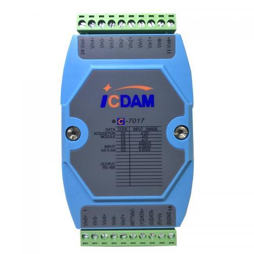 8通道電壓電流模擬量輸入模塊