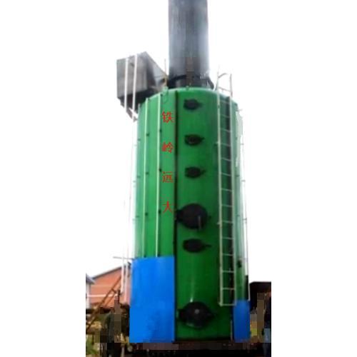 秸稈捆包生物質直燃氣化旋燒鍋爐