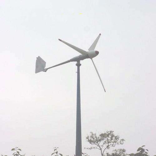 500w低速永磁直流同步风力发电机工作原理