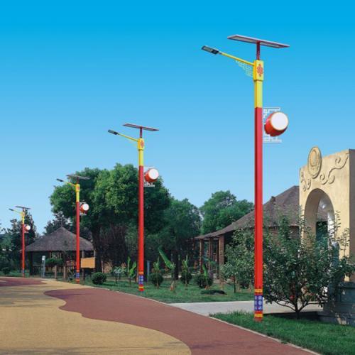 太阳能高杆灯柱头灯