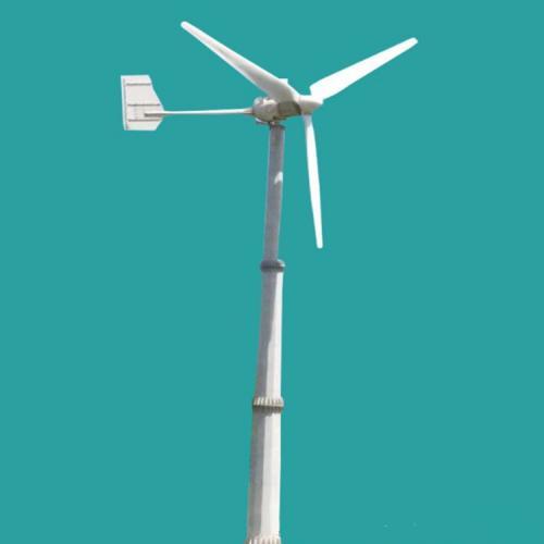鄭州藍潤廠家1kw家用小型風力發電機