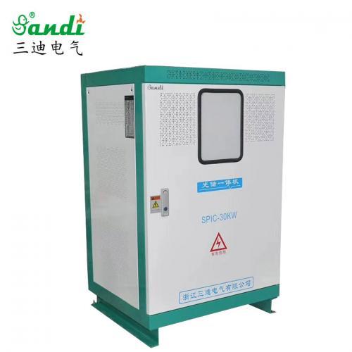 10KW光伏储能锂电一体机