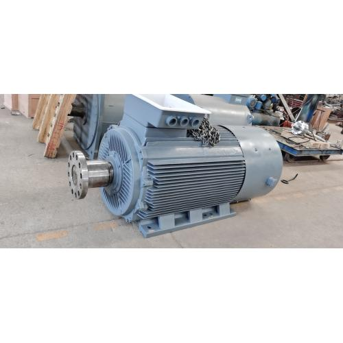 100kw同步交流釹鐵硼永磁發電機