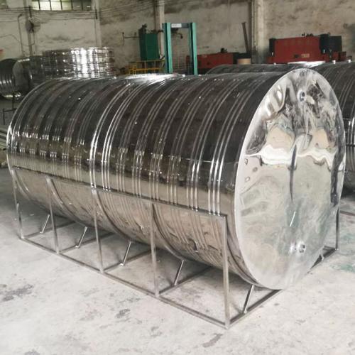 食品级304不锈钢立式圆柱形保温水箱