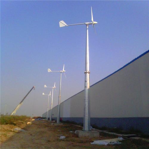150kw西藏并网风力发电机 蓝润风力发电