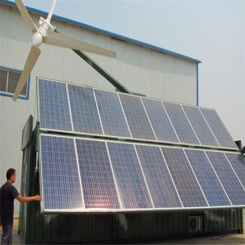 太阳能蓄能系统15kw风光互补系统