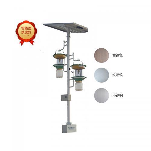 雙燈太陽能智能電網式殺蟲燈