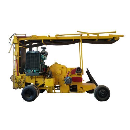 山东汉隆机械促销——移动式柴油机版鼓式削片机