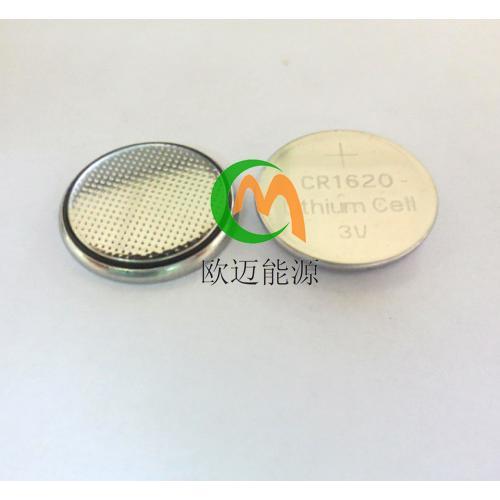 锂锰电池CR1620纽扣电池