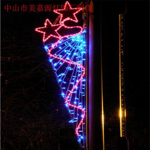 路灯杆亮化灯-立体造型灯