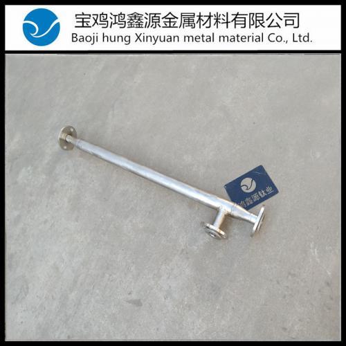 钛合金静态管道混合器