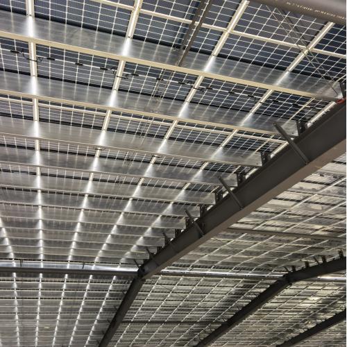 500kw屋顶太阳能光伏并网电站