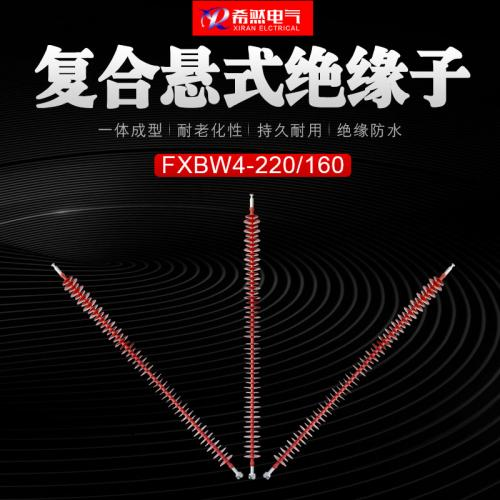 FXBW3-110/120高压线路棒形复合悬式绝缘子