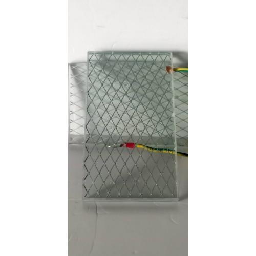 中置柜菱形网夹丝玻璃带接地