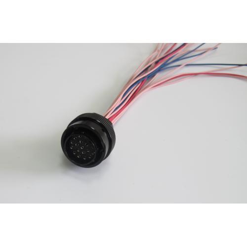 新能源汽车充电连接圆形插座