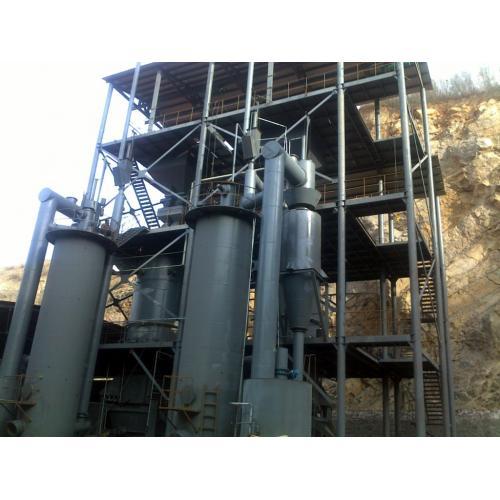下吸式生物質氣化爐