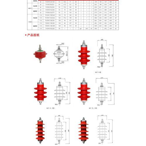 35KV交流輸電線路避雷器