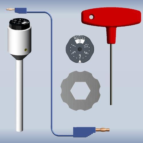 可逆氢标准参比电极