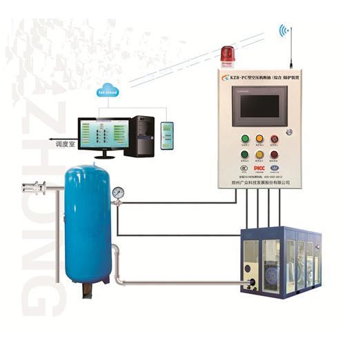 空壓機斷油保護裝置