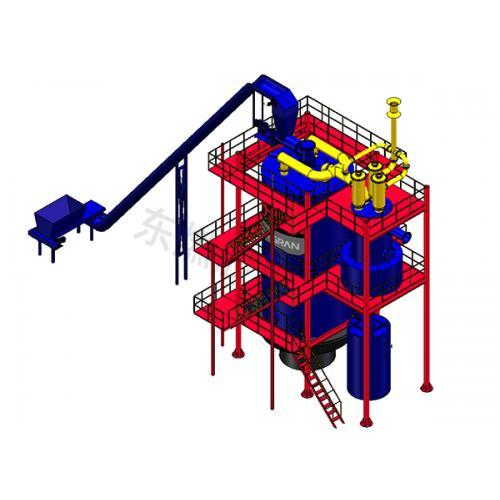 20T生物质气化炉生物质木片燃烧机生物质气化炉