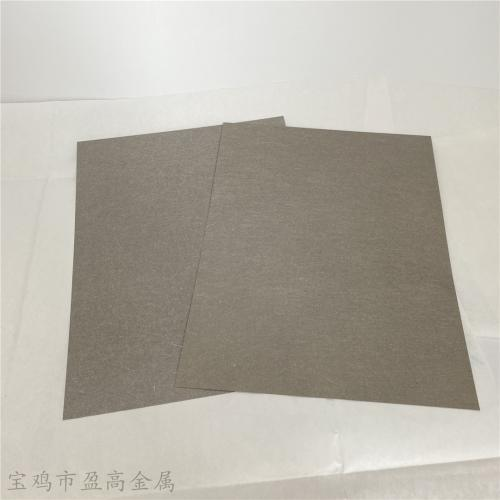 盈高金属钛纤维烧结毡