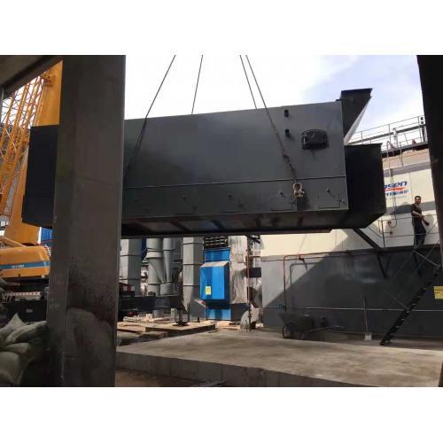 供應4噸生物質顆粒鍋爐,供曖熱水鍋爐