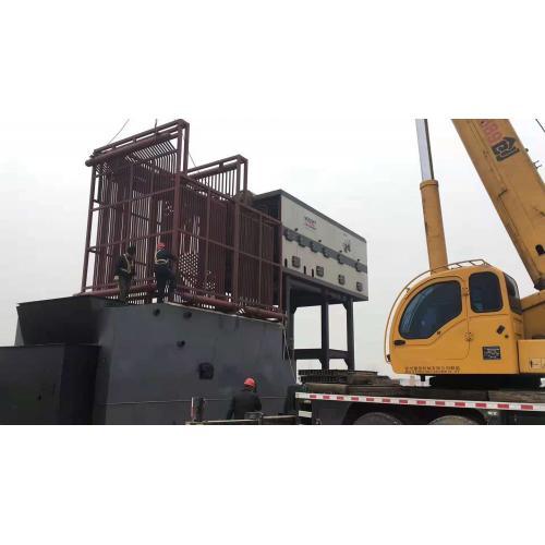 湖南大成鍋爐廠供應8噸生物質壓塊蒸汽鍋爐