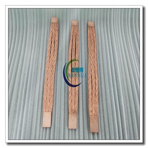 铜扁线熔压一体化软连接