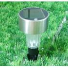 太阳能不锈钢灯高杆灯大头灯火炬灯