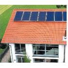 太阳能发电系统看电视