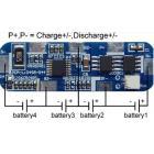 4节18650电池组保护板