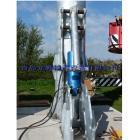 風力發電機液壓塔架