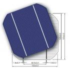 125mm大倒角单晶硅太阳能电池