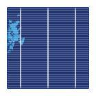 类单晶太阳能电池片