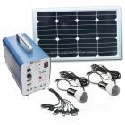 5W便携式太阳能发电系统