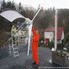 1kw抗大风足功率海上风力发电机