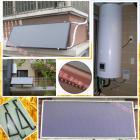 阳台式平板热水器系统
