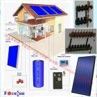 平板太陽能采暖系統