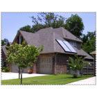 别墅式分体平板太阳能热水器系统
