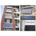阳台式承压强制循环平板太阳能系统