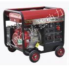 电启动7.5KW三相汽油发电机