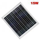 15W太阳能多晶组件
