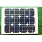 30W太阳能单晶电池板组件