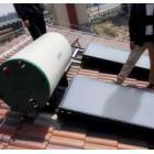 平板一体式太阳能热水系统