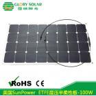 半柔性太阳能发电板